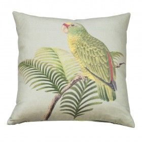 PARROT AND PALM/AZURE