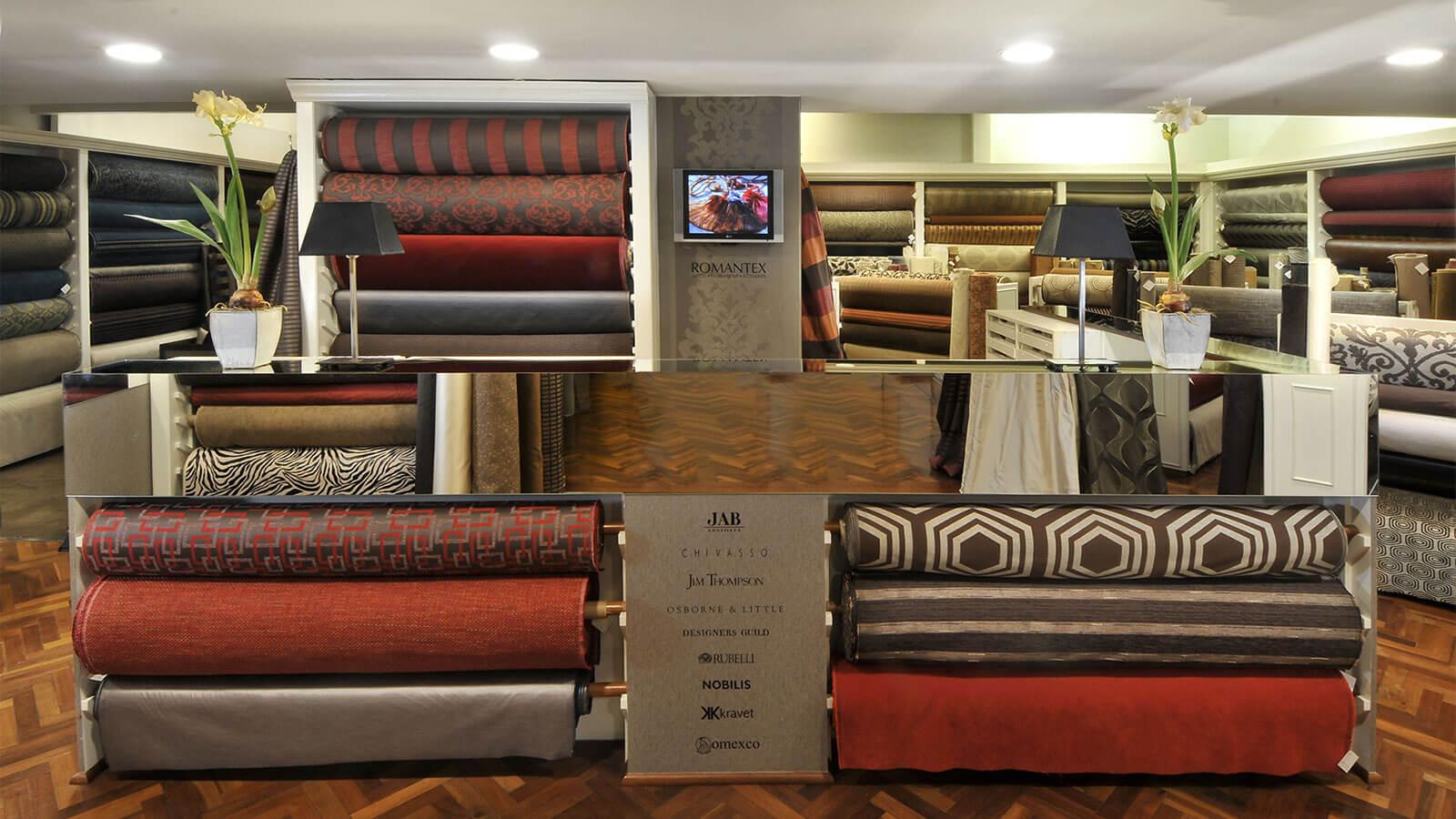 Romantex showroom telas importadas telas exclusivas - Catalogo de telas para tapizar ...