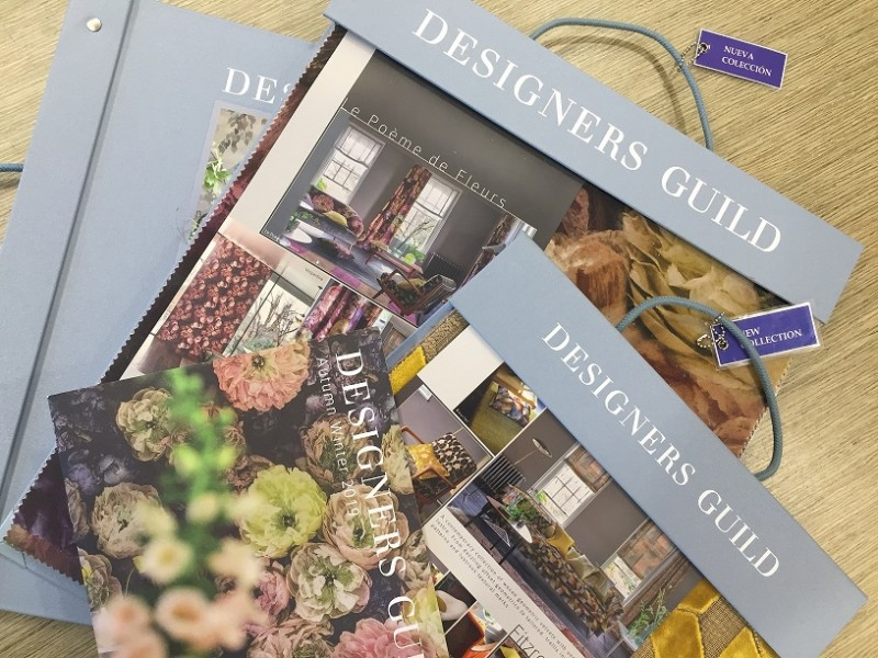 NEW DESIGNERS GUILD FABRIC AND WALLCOVERING COLLECTIONS