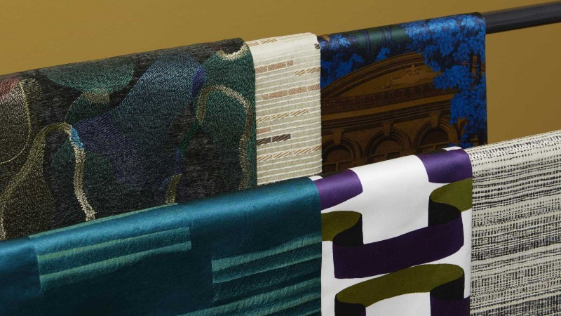 NEW FABRIC COLLECTIONS BY NOBILIS WITH ECLECTIC PATTERNS