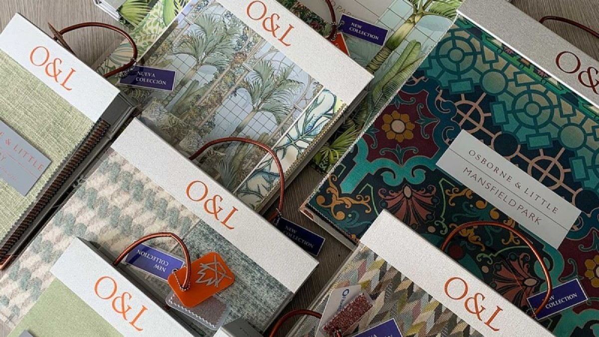 NEW OSBORNE & LITTLE FANTASTIC FABRIC AND WALLCOVERING COLLECTIONS