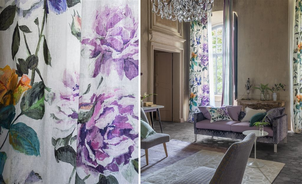 "ULTIMA COLECCION ENERO 2016 DE DESIGNERS GUILD ""COUTURE ROSE"""
